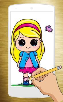 How to Draw Chibi Cute Girls - Princess screenshot 1