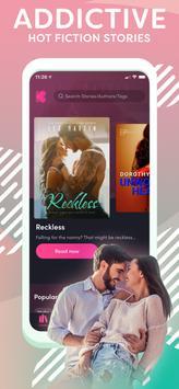 Kiss: Read & Write Romance screenshot 21