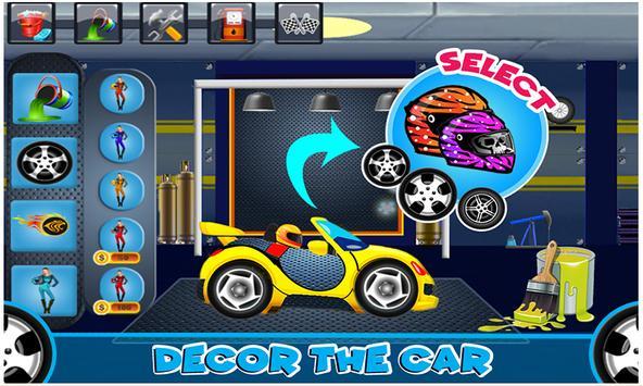 Car Wash & Repair Salon: Kids Car Mechanic Games screenshot 7