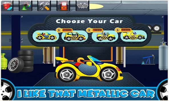 Car Wash & Repair Salon: Kids Car Mechanic Games screenshot 5