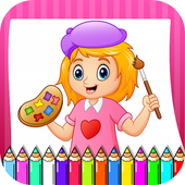 Coloring & Drawing Book - All In One Coloring Book icon