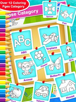 Coloring & Drawing Book - All In One Coloring Book poster