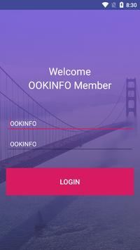 OOKINFO poster