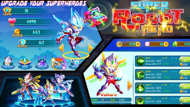 Superheroes Robot: City Wars - RPG Offline Game for Android - APK