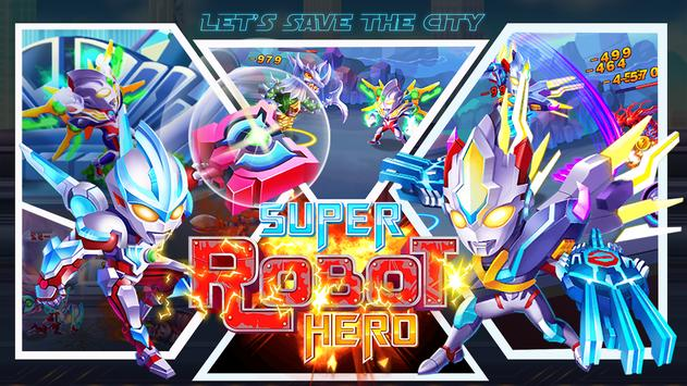 Superheroes Robot: City Wars - RPG Offline Game for Android