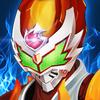 Superheroes Fight: Sword Battle Zeichen