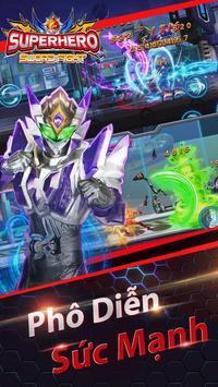 Siêu Nhân Chiến Đấu: Siêu Anh Hùng - Game Offline ảnh chụp màn hình 10