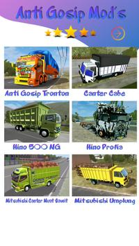 Mod Truck Canter Anti Gosip BUSSID1