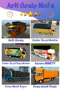 Mod Truck Canter Anti Gosip BUSSID2