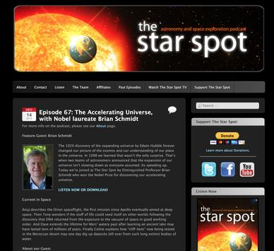 The Star Spot Podcast and Radio Show screenshot 9
