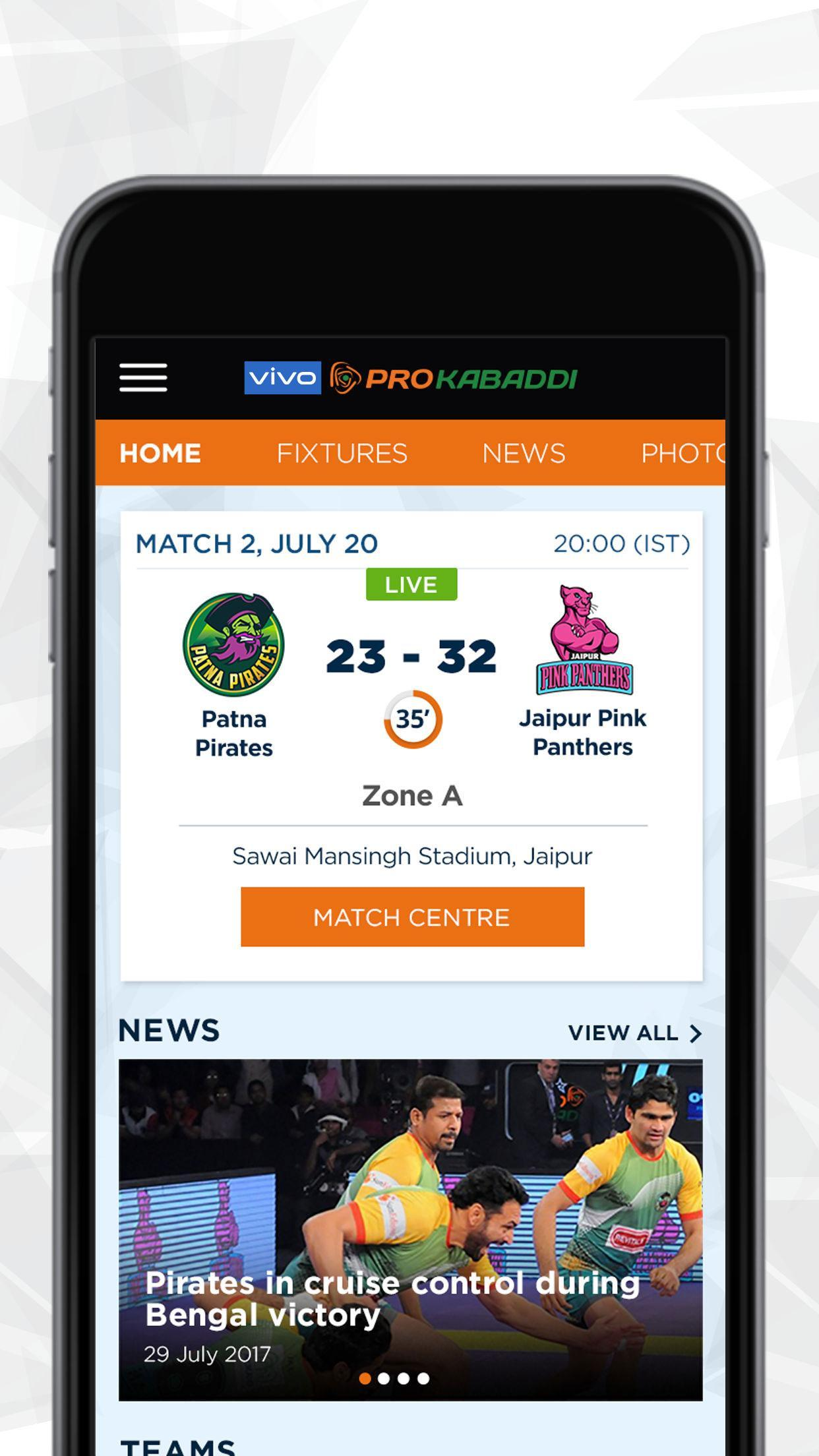 Vivo Pro Kabaddi For Android Apk Download