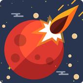 Planet Blast Swipe To Shoot Jumping Ball MOD + APK
