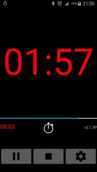 Stille Präsentations Timer Screenshot 2