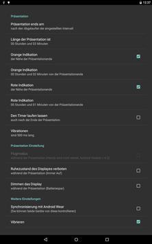 Stille Präsentations Timer Screenshot 6
