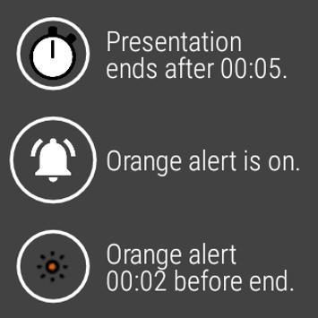 Silent Presentation Timer ảnh chụp màn hình 11