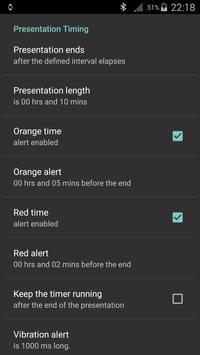 Silent Presentation Timer ảnh chụp màn hình 3