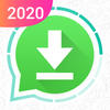 Status saver voor WhatsApp-icoon