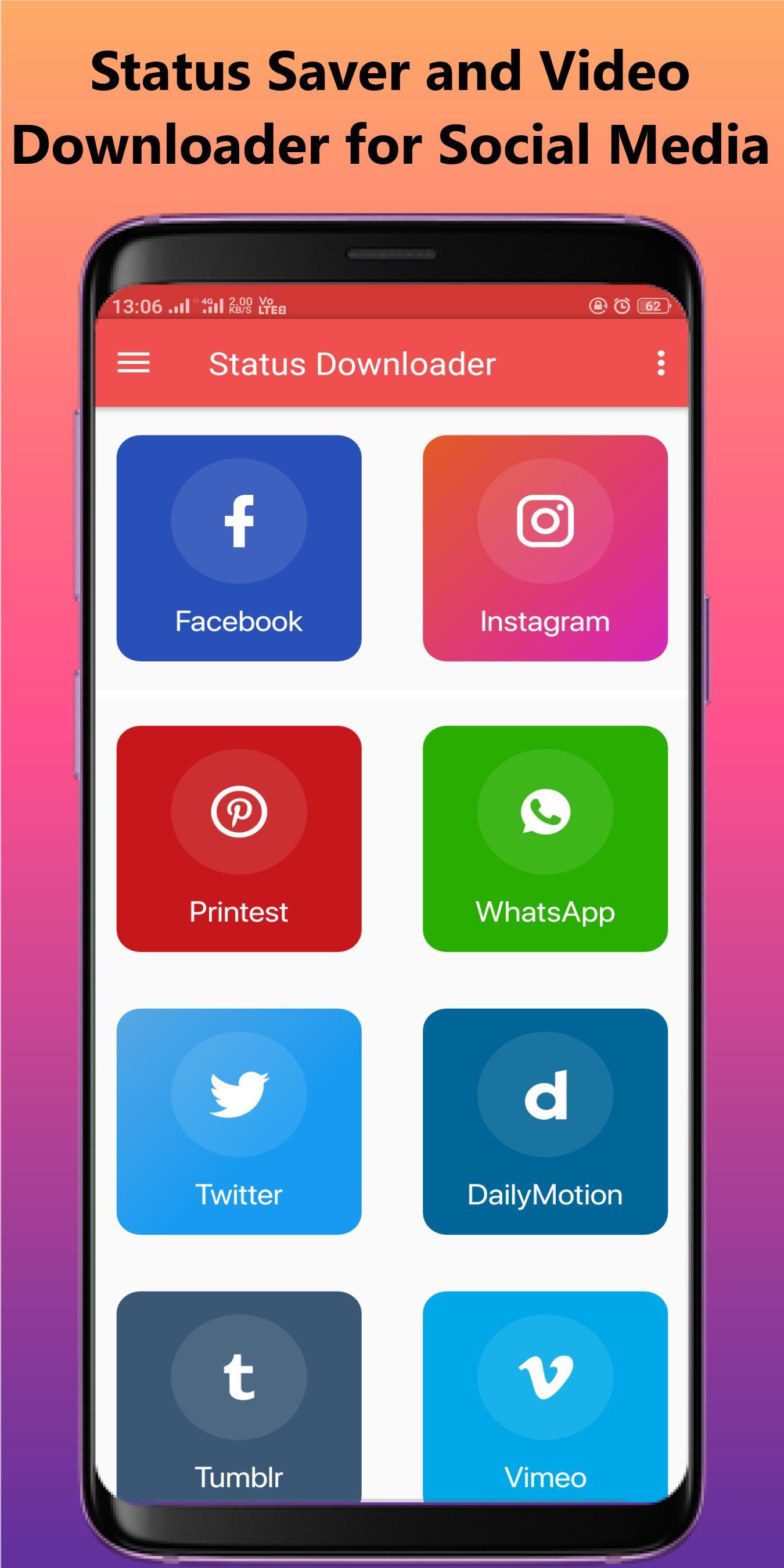 Status Saver For Whatsapp And Fb Video Downloader Für