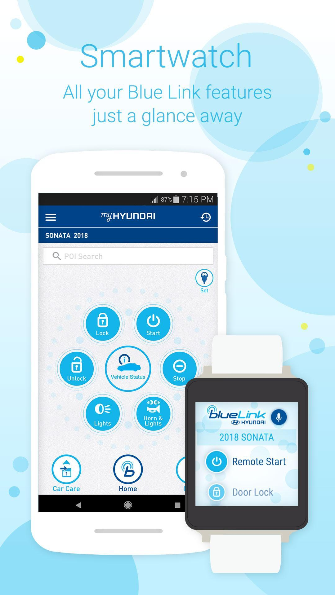 Blue Link Phone Number >> Myhyundai For Android Apk Download