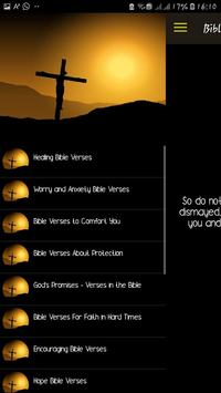 Daily Bible Verses - Inspiration, hope and faith. poster