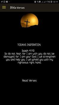 Daily Bible Verses - Inspiration, hope and faith. screenshot 1