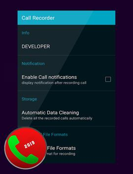 Automatic Call Recorder Pro 2019 screenshot 1
