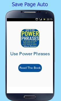 How to Use Power Phrases screenshot 1