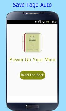 Power Up Your Mind-Learn faster  work smarter screenshot 1