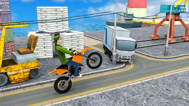 Poster Stunt Bike