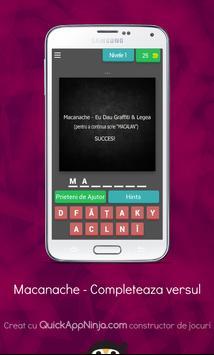 Macanache - Completeaza Versul V2 poster