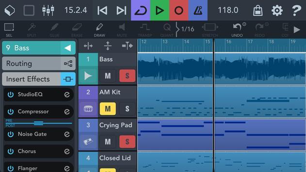 Cubasis 3 - Music Studio and Audio Editor Affiche