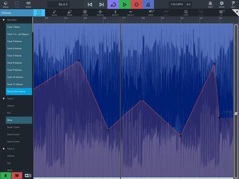 Cubasis 3 - Music Studio and Audio Editor capture d'écran 21