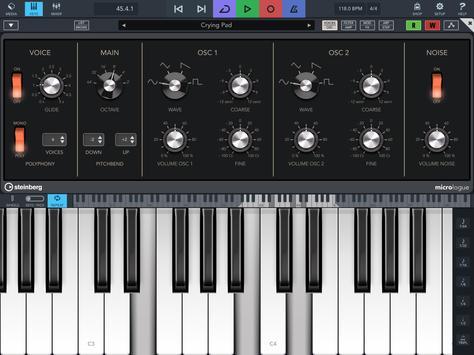 Cubasis 3 - Music Studio and Audio Editor capture d'écran 10