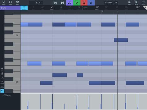 Cubasis 3 - Music Studio and Audio Editor capture d'écran 12