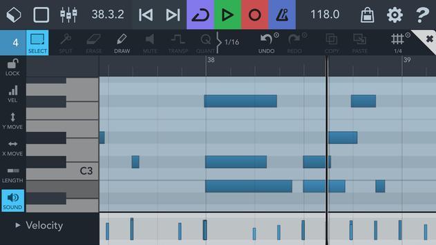 Cubasis 3 - Music Studio and Audio Editor capture d'écran 4