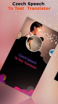 Czech Speech To Text Translator poster