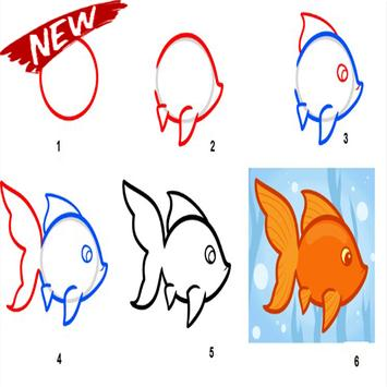 Steps To Draw The Best Fish screenshot 1