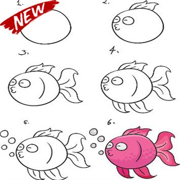 Steps To Draw The Best Fish screenshot 6