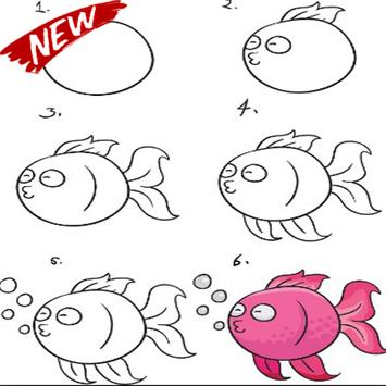 Steps To Draw The Best Fish screenshot 7
