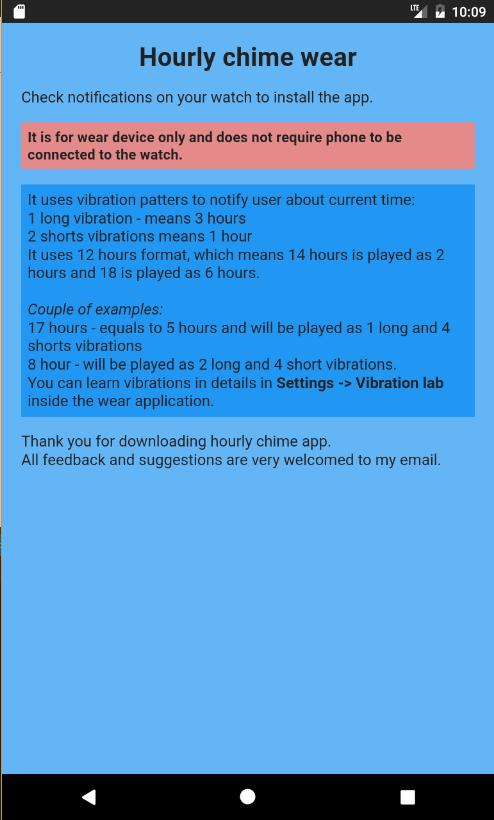 Hourly chime wear for Android - APK Download