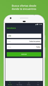 Tecoloco.com Bolsa de Trabajo Poster