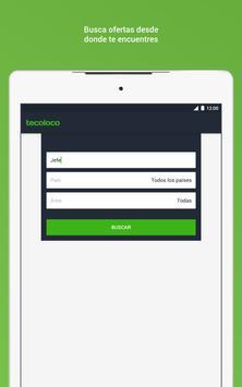 Tecoloco.com Bolsa de Trabajo captura de pantalla 5