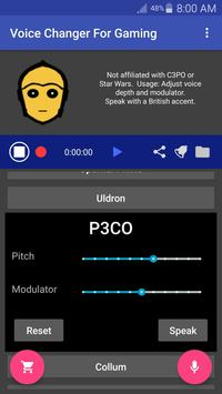 Voice Changer Mic for Gaming - PS4 XBox PC screenshot 11