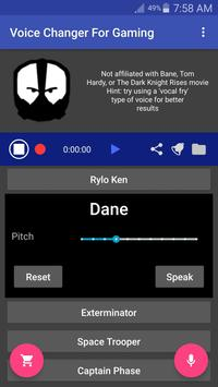 Voice Changer Mic for Gaming - PS4 XBox PC screenshot 3