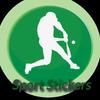 WA USA Baseball Sticker & American Football Stick ícone