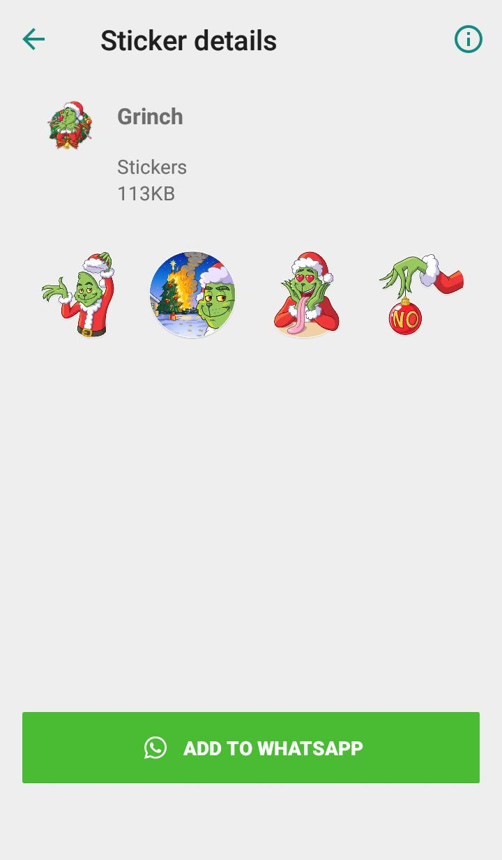 Grinch Nummer Whatsapp