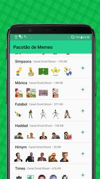 Stickers Memes Pack - WAStickerApps screenshot 3