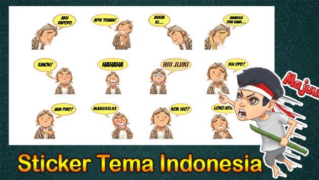 500+ Sticker Tema Indonesia Untuk Whatsapp Lengkap screenshot 1