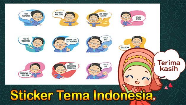 500+ Sticker Tema Indonesia Untuk Whatsapp Lengkap screenshot 3