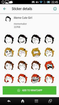 Meme Stickers Packs - Troll Face Icon screenshot 2